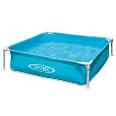 Каркасный бассейн детский Intex 57173, 122 х 122 х 30 см, голубой