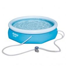 Надувной бассейн семейный Bestway 57270, 305 х 76 см, голубой
