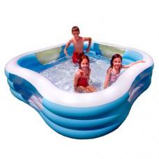 Надувной бассейн детский Intex 57495 Семейный, 229 х 56 см, голубой