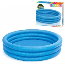 Надувной бассейн детский Intex 58426 Синий Кристалл, 147 х 33 см, синий