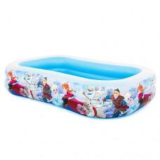 Надувной бассейн детский Intex 58469 Холодное сердце, 262 х 175 х 56 см, разноцветный