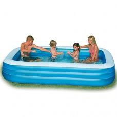 Надувной бассейн детский Intex 58484 Семейный, 305 х 183 х 56 см, голубой