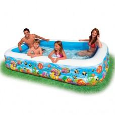 Надувной бассейн детский Intex 58485 Семейный, 305 х 183 х 56 см