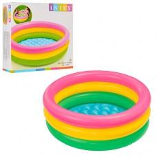 Надувной бассейн детский Intex 58924 Радуга, 86 х 25 см, разноцветный