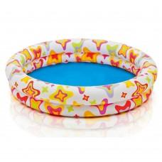 Надувной бассейн детский Intex 59421 Звездочка, 122 х 25 см, разноцветный