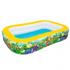 Надувной бассейн детский Bestway 91008 Микки Маус, 269 х 175 х 51 см