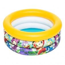 Надувной бассейн детский Bestway 91018 Микки Маус, 70 х 30 см, желтый