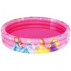 Надувной бассейн детский Bestway 91047 Принцессы, 122 х 25 см, розовый