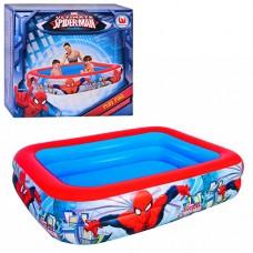 Надувной бассейн детский Bestway 98011 Спайдермен, 201 х 150 х 51 см, разноцветный