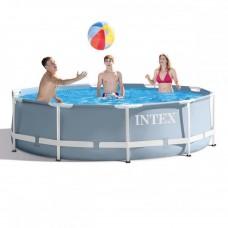 Каркасный бассейн Intex 26700, 305 х 76 см, серый