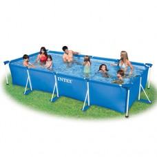Каркасный бассейн Intex 28273, 450 х 220 х 84 см, синий