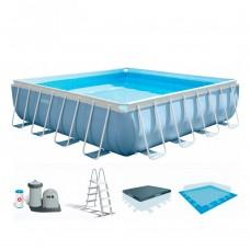 Каркасный бассейн Intex 28766, 488 х 122 см, голубой