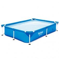 Каркасный бассейн Bestway 56401, 221 х 150 х 43 см, синий
