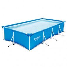 Каркасный бассейн Bestway 56405, 400 х 211 х 81см, синий