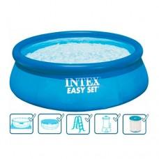 Надувной бассейн Intex 26166, 457 х 107 см, синий