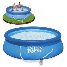 Надувной бассейн семейный Intex 28122, 305 х 76 см, синий