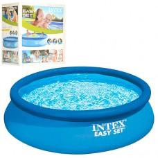 Надувной бассейн семейный Intex 28130, 366 х 76 см, синий