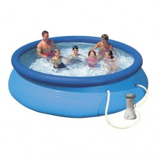 Надувной бассейн семейный Intex 28132, 366 х 76 см, синий