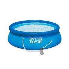 Надувной бассейн семейный Intex 28142, 366 х 84 см, синий