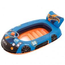 Надувной бассейн детский Bestway 93405 Hot Wheels, 112 х 71 см, синий