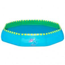 Каркасный бассейн детский Bestway 51126 Дельфины, 99 х 20 см, голубой