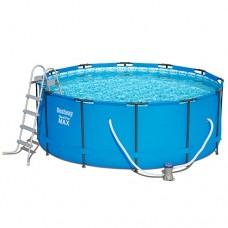 Каркасный бассейн Bestway 56420, 366 x 122 см, голубой