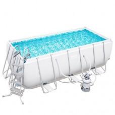 Каркасный бассейн Bestway 56457, 412 x 201 x 122 см, белый