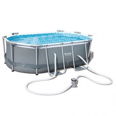 Каркасный бассейн Bestway 56617, 300 x 200 x 84 см, серый