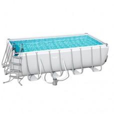 Каркасный бассейн Bestway 56670, 488 x 244 x 122 см, белый