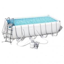 Каркасный бассейн Bestway 56671, 488 x 244 x 122 см, белый