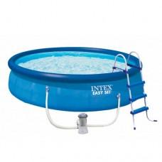 Надувной бассейн Intex 26168, 457 х 122 см, синий