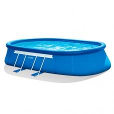 Надувной бассейн семейный Intex 26194, 610 х 366 х 122 см, синий