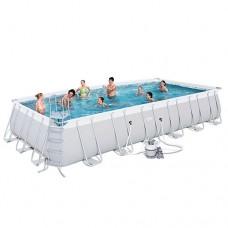 Каркасный бассейн Bestway 56475, 732 х 366 х 132 см, белый