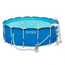Каркасный бассейн Intex 28242, 457 х 122 см, синий