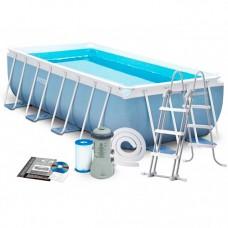 Каркасный бассейн Intex 28318, 488 x 244 x 107 см, голубой