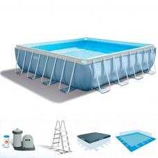 Каркасный бассейн Intex 28764, 427 х 107 см, голубой