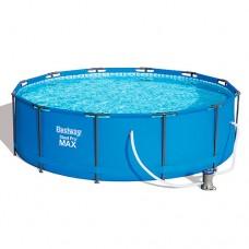 Каркасный бассейн Bestway 56260, 366 х 100 см, синий