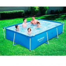 Каркасный бассейн Bestway 56402, 239 х 150 х 58 см, синий