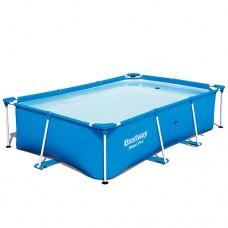 Каркасный бассейн Bestway 56403, 259 х 170 х 61 см, синий