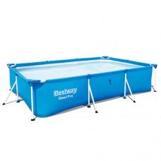Каркасный бассейн Bestway 56404, 300 х 201 х 66 см, синий