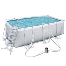 Каркасный бассейн Bestway 56456, 412 x 201 x 122 см, белый