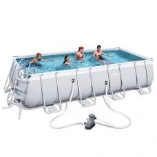 Каркасный бассейн Bestway 56465, 549 х 274 х 122 см, белый