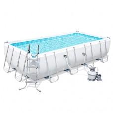 Каркасный бассейн Bestway 56466, 549 х 274 х 122 см, белый