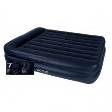 Велюр кровать 64124 152-203-42см, с встроенным эл насосом 220В