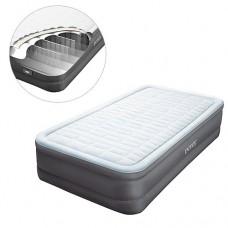 Велюр кровать 64482 с встроенным эл насосом 220В, 99-191-46см