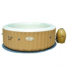 Надувной бассейн-джакузи Bestway 54129 Lay-Z-Spa, 196 х 71 см, бежевый
