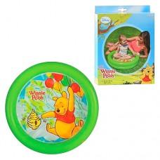 Надувной бассейн детский Intex 58922 Винни Пух, 61 х 15 см, зеленый