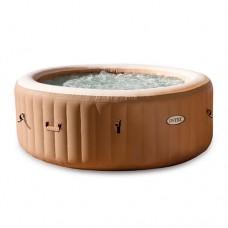 Надувной бассейн-джакузи Intex 28474, 196 х 71 см, коричневый