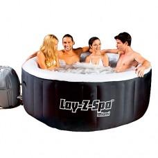 Надувной бассейн-джакузи Bestway 54123 Lay-Z-Spa, 180 х 65 см, черный