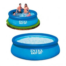 Надувной бассейн семейный Intex 28110, 244 х 76 см, голубой